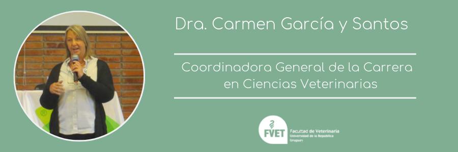 FVET designa a Carmen García y Santos como Coordinadora de Carrera