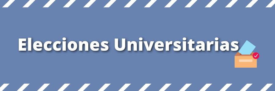 Se postergan las Elecciones Universitarias