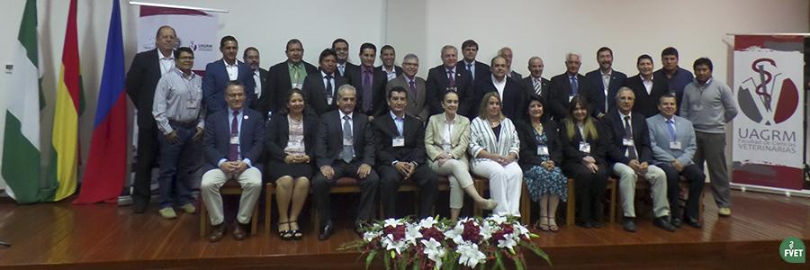 Académicos de Facultades y Escuelas de Ciencias Veterinarias participaron de la Reunión de AFECV-MERCOSUR