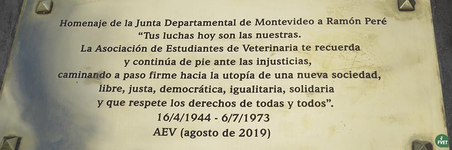 Homenaje a Ramón Peré