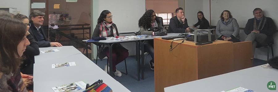 Presentación de bienvenida a Estudiantes Extranjeros en Facultad de Veterinaria