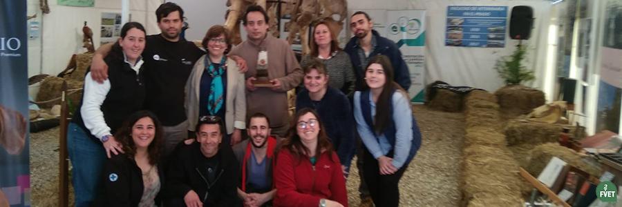 Premio al stand de Facultad de Veterinaria en Expo Prado 2018