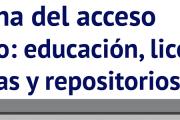 """Jornada: """"Semana del acceso abierto: educación, licencias abiertas y repositorios"""""""