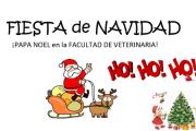 ¡Papá Noel en Facultad de Veterinaria!
