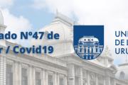 Comunicado covid-19 n.º 47: sobre presencialidad a partir del 18 de octubre en distintas sedes
