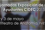 XVII Jornadas Exposición de resultados Ayudantes CIDEC 2015-16