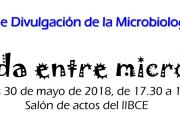 """Jornada de divulgación de la Microbiología: """"Mi vida entre microbios"""""""