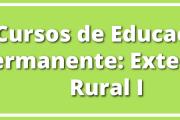 Cursos de Educación Permanente: Extensión Rural I
