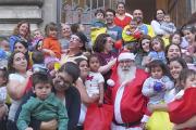 ¡Papá Noel visitó la Facultad de Veterinaria!