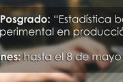 """Curso de Posgrado: """"Estadística básica y diseño experimental en producción animal"""""""