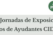 XX Jornadas de Exposición de resultados: Ayudantes CIDEC 2018
