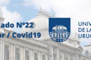 Comunicado Nº22 de la Udelar / Covid-19