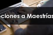 Inscripciones a Maestrías en FVET
