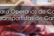 Curso para Operarios de Carnicerías y Transportistas de Carnes