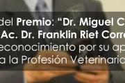 """Entrega del Premio """"Dr. Miguel C. Rubino"""""""
