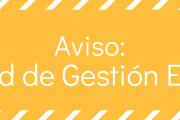 Aviso: sobre traslado del Pabellón de AEV