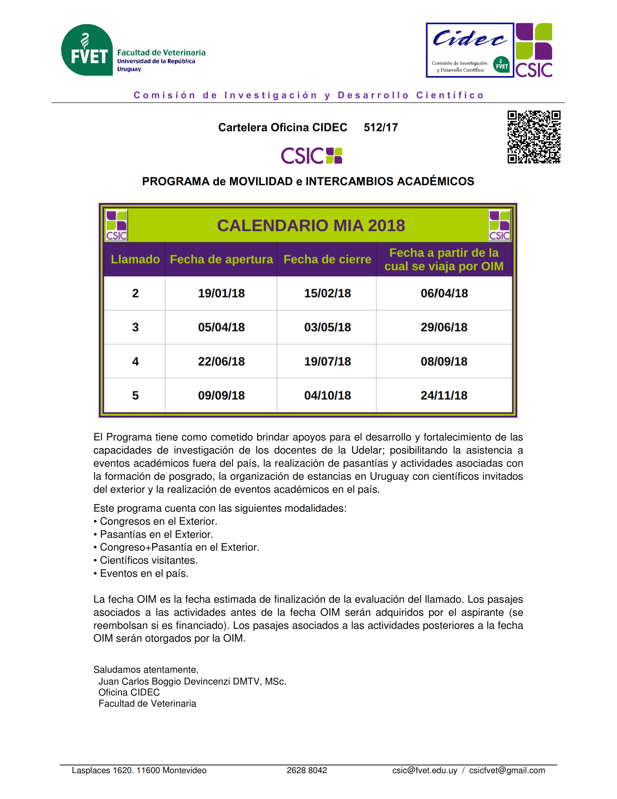 Cart CIDEC 512 2017 Calendario MIA 2018 001